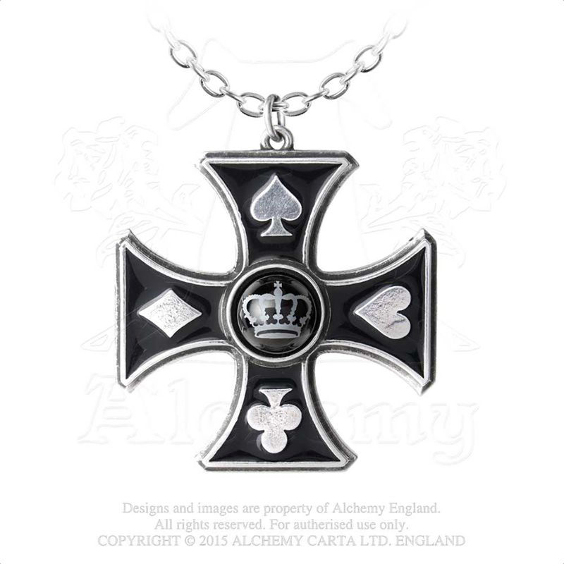 Alchemy Gothic Sharp´s Cross - Necklace