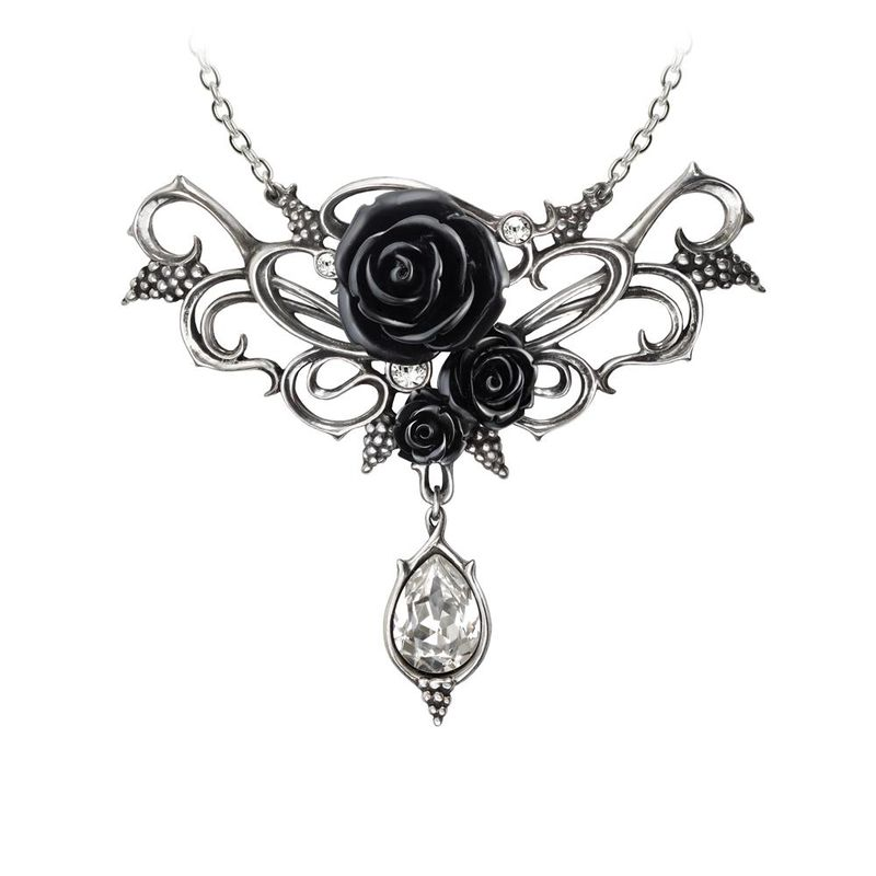 Alchemy Gothic Bacchanal Rose - Necklace
